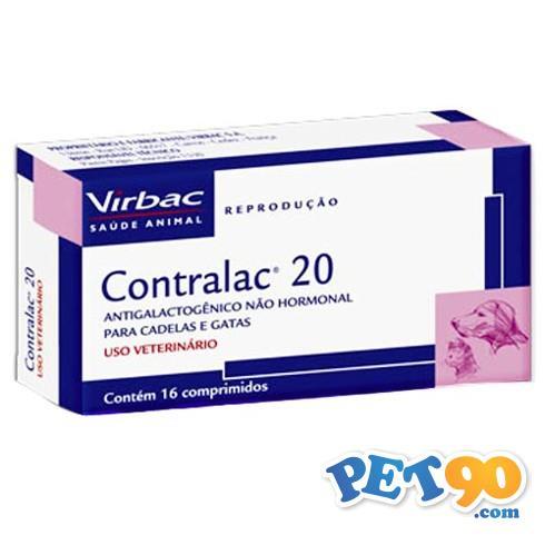Contralac 20 - 16 comprimidos