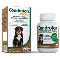 Regenerador Articular Vetnil Condroton Comprimidos Regenerador Articular Vetnil Condroton Frasco com