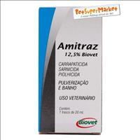Amitraz 12,5% Frasco - 20ml