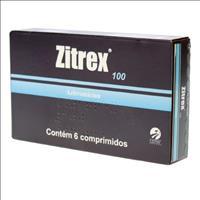 Zitrex 100mg - 6 comprimidos