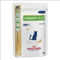 Ração Royal Canin Sachê Feline Veterinary Diet Urinary S/O para Gatos com Calculos na Urina - 100 g