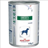 Ração Royal Canin Lata Canine Veterinary Diet Obesity Management Wet - 410 g