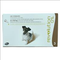 Anti Pulgas e Carrapatos Pfizer Revolution 12% para Cães de 5 a 10 kg - 60 mg Anti Pulgas e Carrapat