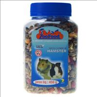 Ração Zoofood Hamster Tradicional - 450 g