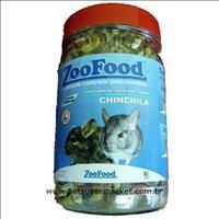 Ração Zoofood Chinchila - 450 g Ração Zoofood Chinchila 450 g - Tropical