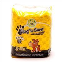 Fralda Dogs Care para Machos - Pacote de 6 Unidades Fralda Dogs Care para Machos - Tam GG