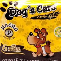 Fralda Dogs Care para Machos - Pacote de 6 Unidades Fralda Dogs Care para Machos - Tam P