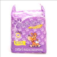 Fralda Dogs Care para Fêmeas - Pacote de 6 Unidades Fralda Dogs Care para Fêmeas - Tam PP