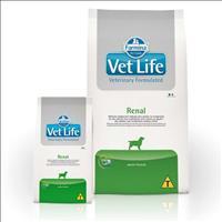 Ração Farmina Vet Life Renal para Cães Adultos com Insuficiência Renal - 10kg