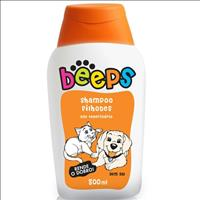 Shampoo Pet Society Beeps sem Sal - 500 mL Shampoo Pet Society Beeps sem Sal de 500 mL - Filhotes