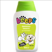 Shampoo Pet Society Beeps sem Sal - 500 mL Shampoo Pet Society Beeps sem Sal de 500 mL - Neutro