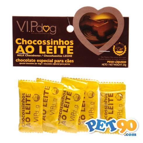 Chocolate Vip Dog Chocossinho 5 unidades - 20gr