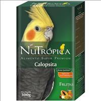 Ração Nutrópica com Frutas para Calopsita - 300gr