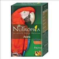 Ração Nutrópica com Frutas para Arara - 600gr