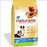Ração Total Naturalis Frango,Peru e Frutas para Cães Filhotes Ração Total Naturalis Frango, Peru e F