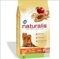 Ração Total Naturalis Frango, Peru e Frutas para Cães Adultos de Raças Pequenas - 2kg