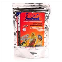 Mistura de Sementes para Canários Zoofood - 500 g
