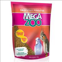Ração Extrusada para Calopsitas e Periquitos Megazoo - 350gr