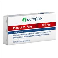 Maxicam Plus Ourofino - 8 comprimidos Maxicam Plus Ourofino - 0,5mg