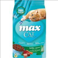 Ração Total Max Cat Buffet Cordeiro e Frango para Gatos Adultos - 3kg