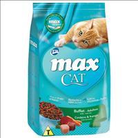 Ração Total Max Cat Buffet Cordeiro e Frango para Gatos Adultos - 8kg