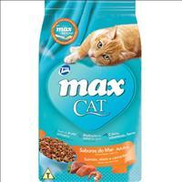 Ração Total Max Cat Sabores do Mar para Gatos Adultos - 20kg