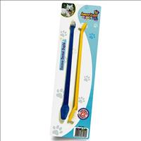 Escova de Dente Cabo Longo American Pets - 2 Unidades