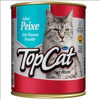 Ração Top Cat em Lata Peixe - 290 g