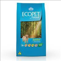 Ração Farmina Ecopet Natural Junior para Cães Filhotes de Raças Médias e Grandes - 20kg