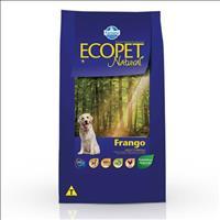 Ração Farmina Ecopet Natural Frango para Cães Adultos de Raças Médias e Grandes - 20kg