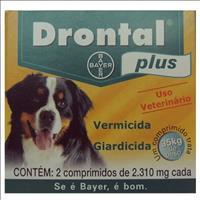 Vermífugo Drontal Plus Cães Maxi - 2 Comprimidos