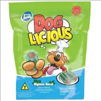 Petisco Total Dog Licious Higiene Bucal - 80gr