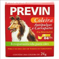 Coleira Anti Pulgas e Carrapatos Coveli Previn para Cães
