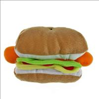 Brinquedo Chalesco Hambúrguer de Pelúcia