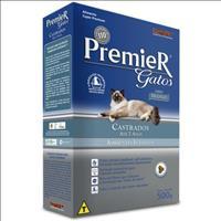 Ração Premier Pet Gatos Ambientes Internos Castrados Até 7 Anos Frango - 500gr
