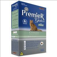 Ração Premier Pet Gatos Ambientes Internos Castrados Acima de 12 Anos Frango - 500gr