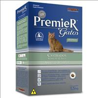 Ração Premier Pet Gatos Ambientes Internos Castrados Acima de 12 Anos Frango - 1,5kg