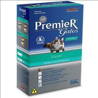 Ração Premier Pet Gatos Ambientes Internos Light Adultos Salmão - 500gr