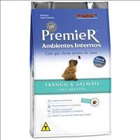 Ração Premier Pet Ambientes Internos Cães Adultos Frango e Salmão - 7,5kg