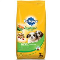 Ração Pedigree Equilíbrio Natural Junior para Cães Filhotes - 3kg