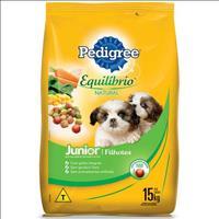 Ração Pedigree Equilíbrio Natural Junior para Cães Filhotes - 15kg