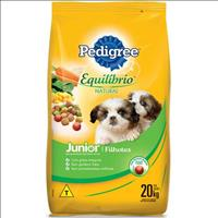 Ração Pedigree Equilíbrio Natural Junior para Cães Filhotes - 20kg