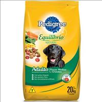Ração Pedigree Equilíbrio Natural para Cães Adultos de Raças Médias e Grandes - 20kg