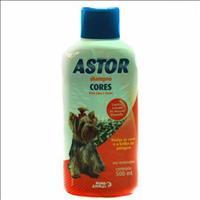 Shampoo Cores Astor para Cães - 500ml