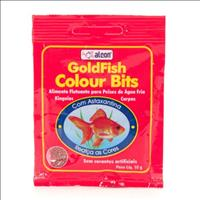 Ração Alcon Goldfish Colour Bits - 10gr