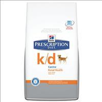 Ração Hills Canine Prescription K/D Problemas Renais - 3,8kg