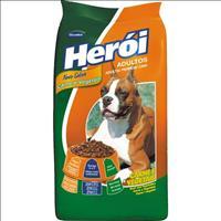 Ração Guabi Herói Carne e Vegetais para Cães Adultos - 8 Kg