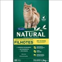 Ração Natural Gatos Filhotes - 1,5kg