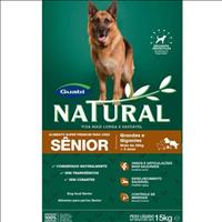 Ração Guabi Natural para Cães Sênior de Raças Grandes e Gigantes - 15 Kg