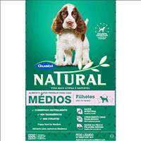 Ração Natural Cães Filhotes Raças Médias - 3kg